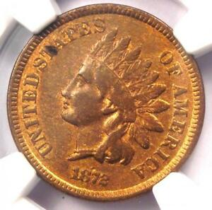 1872 INDIAN CENT 1C   NGC XF DETAILS    DATE CERTIFIED PENNY   LOOKS AU