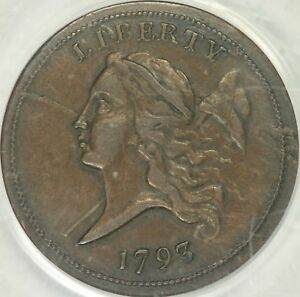 Click now to see the BUY IT NOW Price! 1793 LIBERTY CAP HALF CENT PCGS XF40