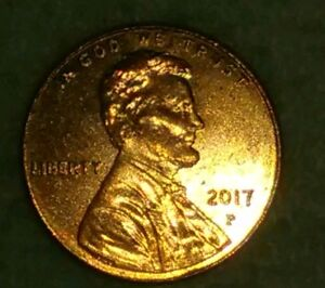 2017 P PENNY  ERROR ON BOTH SIDES OF COIN