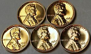 1964 PROOF LINCOLN MEMORIAL CENT PENNY