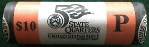 2004 P WISCONSIN STATEHOOD QUARTER MINT WRAPPED 40 COIN ROLL UNCIRCULATED