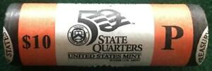 2004 P TEXAS STATEHOOD QUARTER MINT WRAPPED 40 COIN ROLL UNCIRCULATED