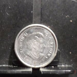 CIRCULATED 2006 10 CENT CANADIAN COIN 91817 1