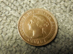 1896 CANADIAN LARGE CENT/PENNY IN VG SHAPE. BUT YOU DECIDE
