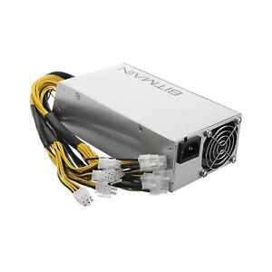 ABLEGRID NEW BITMAIN POWER SUPPLY APW3    12V 1600W PSU A3 PCI L3  D3 S7 S9 1