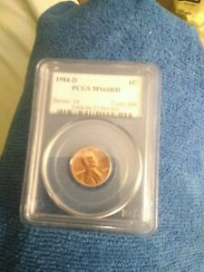 PCGS 1984 D RED CENT