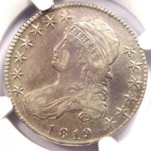 1819 CAPPED BUST HALF DOLLAR 50C   CERTIFIED NGC XF DETAILS    COIN