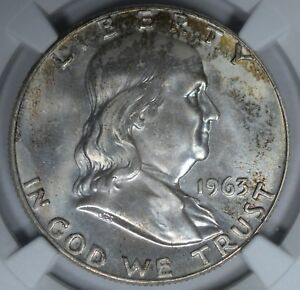 Click now to see the BUY IT NOW Price! 1963 D 50C NGC MS67 FBL POP 2/0 REGISTRY  FI