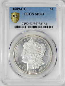 Click now to see the BUY IT NOW Price! 1889 CC MORGAN S$1 PCGS MS 63