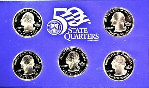2004 UNITED STATES MINT 50 STATE QUARTERS PROOF SET WITH COA