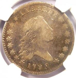 1795 FLOWING HAIR BUST HALF DOLLAR 50C   CERTIFIED NGC FINE DETAIL    COIN