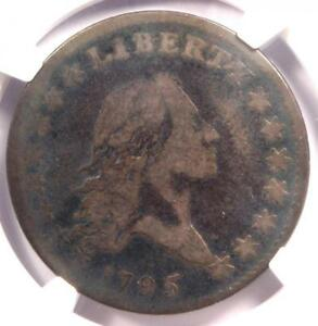 1795 FLOWING HAIR HALF DOLLAR 50C COIN O 131   CERTIFIED NGC G6   $1 300 VALUE