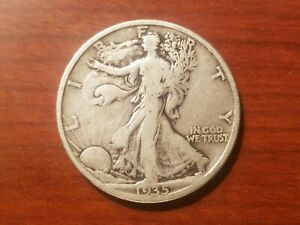 Click now to see the BUY IT NOW Price! 1935 WALKING LIBERTY HALF DOLLAR SILVER COIN 50 CENTS WALKER 50C 1/2 NICE