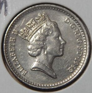 1992 GREAT BRITAIN 5 PENCE KM937B