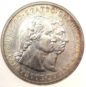 1900 LAFAYETTE SILVER DOLLAR $1   ANACS UNC DETAILS  MS     CERTIFIED COIN