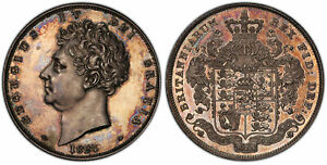 Click now to see the BUY IT NOW Price! BRITAIN GEORGE IV. 1826 AR CROWN. PCGS PR62 KM 699. SEPTIMO S 3806 ESC 2336