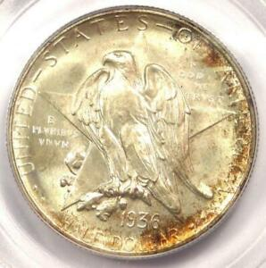 1936 S TEXAS HALF DOLLAR 50C COIN   PCGS MS67    IN MS67   $750 VALUE