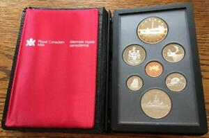 1984 CANADA DOUBLE DOLLAR PROOF SET TORONTO'S SESQUICENTENNIAL IN BOX WITH COA