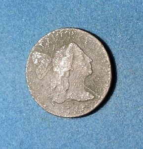 1794 LIBERTY CAP LARGE CENT VF CONDITION 1C LETTERED EDGE HEAD OF 1794 COPPER