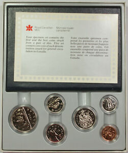 1987 ROYAL CANADIAN MINT PROOF SET WITH COA AND DECORATIVE CASE IN OGP