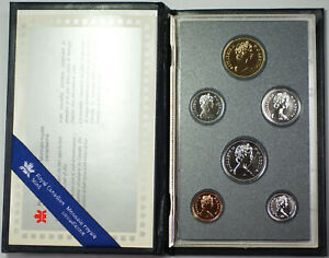 1988 ROYAL CANADIAN MINT PROOF SET WITH COA AND DECORATIVE CASE IN OGP