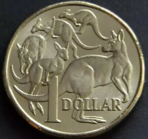 2018 MOB OF ROOS $1 COIN IN CAPSULE EX RAM BAG FREE AU POST
