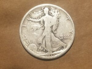 Click now to see the BUY IT NOW Price! 1917 S REVERSE WALKING LIBERTY HALF DOLLAR SILVER COIN 50 CENTS WALKER 1/2 50C