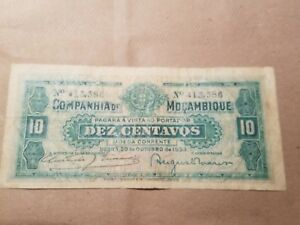 Click now to see the BUY IT NOW Price! 1933 MOZAMBIQUE 10 CENTAVOS NOTE PORTUGUESE COLONIAL NICE P. R28