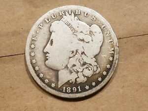 Click now to see the BUY IT NOW Price! 1891 O MORGAN SILVER DOLLAR LIBERTY HEAD $1 COIN NICE