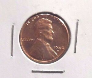 UNCIRCULATED 1964D  LINCOLN MEMORIAL PENNY  010916