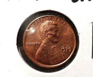 UNCIRCULATED 1979P LINCOLN MEMORIAL PENNY  93016 5