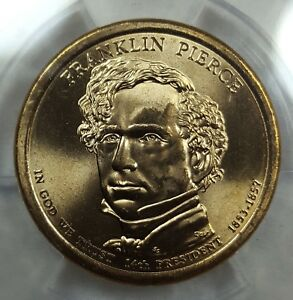 Click now to see the BUY IT NOW Price! 2010 D ANACS MS68 SUPERB GEM BU FRANKLIN PIERCE DOLLAR SOLO FINEST POP 1 4913630
