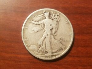 Click now to see the BUY IT NOW Price! 1920 P WALKING LIBERTY HALF DOLLAR SILVER COIN 50 CENTS WALKER 1/2 $1 50C FINE F