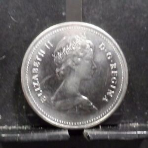 CIRCULATED 1985 5 CENT CANADIAN COIN  92917 1