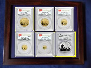 Click now to see the BUY IT NOW Price! 2011 CHINA GOLD PANDA 6 COINS COMPLETE SET PCGS MS 70 FIRST STRIKE