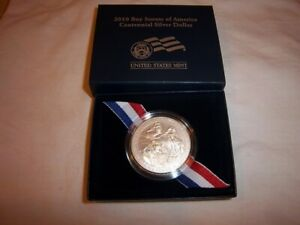 2010 BOY SCOUTS OF AMERICA CENTENNIAL UNCIRCULATED SILVER DOLLAR