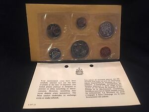 1970 CANADIAN PROOF SET