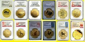 Click now to see the BUY IT NOW Price! 2008 2018 AUSTRALIA GOLD LUNAR 12 COINS COMPLETE SET 12 OZ GOLD NGC 70 SERIES 2