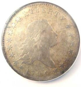 1794 FLOWING HAIR BUST HALF DOLLAR 50C O 101A   NGC VG DETAIL    DATE COIN