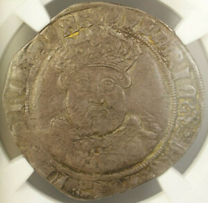 Click now to see the BUY IT NOW Price!  1544 47  ENGLAND 1 TESTOON HENRY VIII SILVER COIN S 2365 NGC VF 25