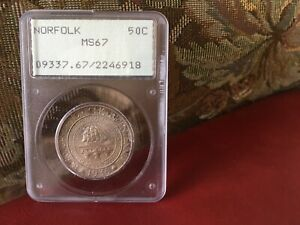 Click now to see the BUY IT NOW Price! PCGS 1936 NORFOLK MS 67 OLD HOLDER
