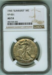 Click now to see the BUY IT NOW Price! 1945 WALKING LIBERTY 50C
