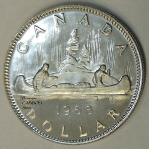 1968 CANADA PROOF LIKE NICKEL DOLLAR