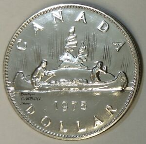 1975 CANADA PROOF LIKE NICKEL DOLLAR