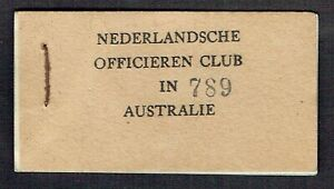 Click now to see the BUY IT NOW Price! NETHERLANDS INDIES 3D 6D 9D   CHIT BOOK 1943 MILITARY CANTEEN MONEY INDONESIA
