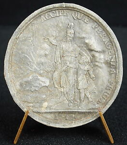 MEDAL BRACE EDUCATION OF KING LOUIS XV 1717 TEMPLE OF THE GLORY   MEDAL