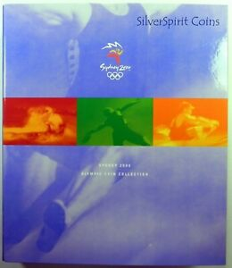 2000 SYDNEY OLYMPIC COIN COLLECTION IN OFFICIAL ALBUM