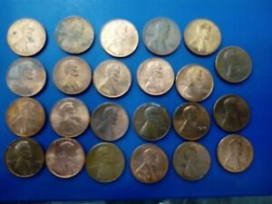 USA COIN LOT OF 1 CENTS 23 PCS    T1866