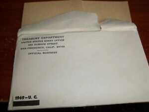 1969 MINT SET ENVELOPE ONLY  NO COINS