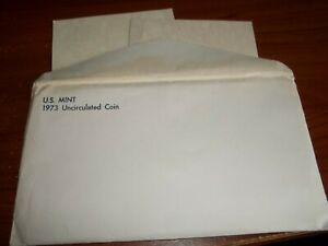 1973 MINT SET ENVELOPE ONLY